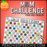 M&M Challenge for 100 Repetitions by Peachie Speechie