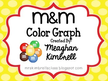 M&M Color Graph