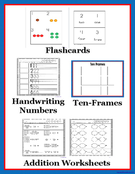 Math Candy M&Ms Flashcards, Number Writing, and Activities using numbers 1-30