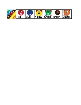 M&M Counting Graph