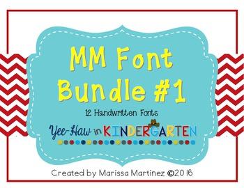 MM Font Bundle