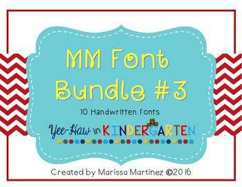 MM Font Bundle 3