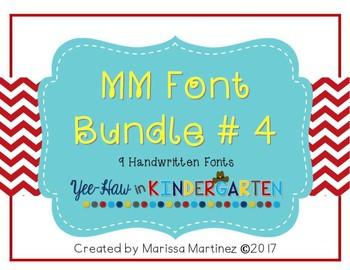 MM Font Bundle 4
