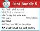 MM Font Bundle 5