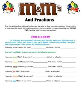 M&M Fractions