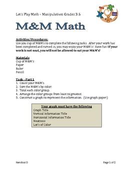 M&M Fun for the BIG Kids!