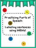 M&M Parts of Speech Activity