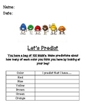 M&M Graphing Activity - 100th day or any day!