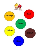M&M Graphing Chart