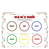 M&M Graphing & Sorting
