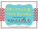 MM Growing Font Bundle