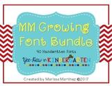 MM Growing Font Bundle