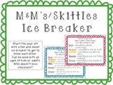 M&M Ice breaker