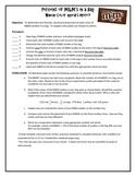 M&M Lab for Fractions, Decimals & Percents