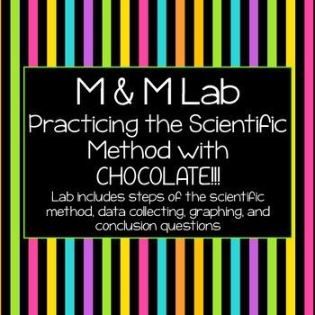 M&M Melting Lab: Practicing The Scientific Method & Data C