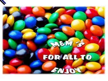 RATIO, PERCENTAGE, FRACTIONS: M&M POWERPOINT LESSON WITH Q