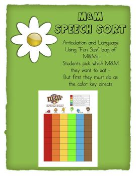 M&M Speech Sort