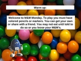 M&M multiplying and dividing integers