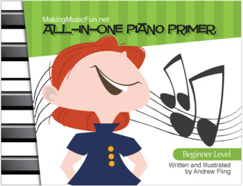 MMF! All-In-One Piano Primer Book for the Young Beginner (Digital Print)
