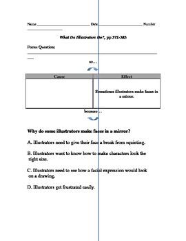 MMH Treasures Story What Do Illustrators Do? Part 2 Comprehension Questions