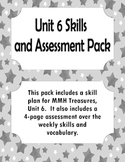 MMH Treasures- Unit 6 Week 1-5 Assessment Pack