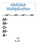 MMOMA Multiplication Journal Notes