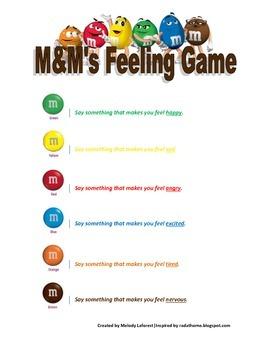 M&M's Feeling Game