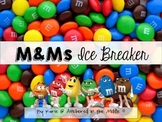 M&Ms First Day Ice Breaker Activity