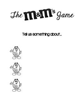 M&M's Game Icebreaker