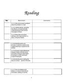 MN 1st Grade Standards Packet