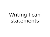 """MN ELA and Math """"I Can"""" Statements"""