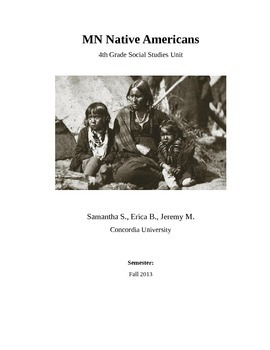 MN Native American Unit