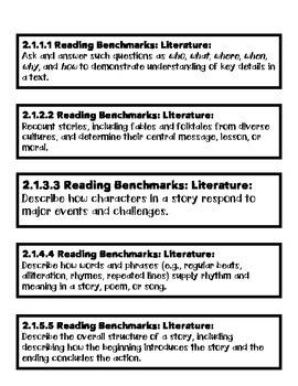 MN Standards, Language Arts, 2nd Grade