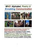 MNO: Alphabet, Poetry & Ennobling Oral Communication