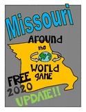 FREE UPDATE! Missouri History and Geography Game: Missouri Around the World
