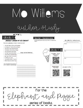 MO WILLEMS - Elephant & Piggie Interactive Read Aloud Centers