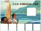MOANA Themed Token Board System - Behavior Management