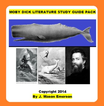 MOBY DICK LITERATURE STUDY GUIDE PACK (COMMON CORE, 25 PP)