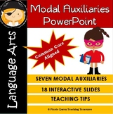 MODAL AUXILIARIES PPT/CCSS Aligned 4th Grade Up/Distance Learning