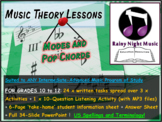 MODES and POP MUSIC CHORDS