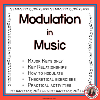 MODULATION in MUSIC for Middle School