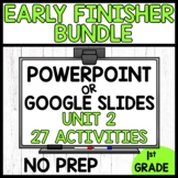 Early Finishers Activities | MODULE 2 BUNDLE