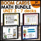 Boom Cards Distance Learning| MODULE 3 Math BUNDLE
