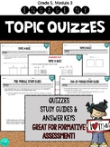 MODULE 3 TOPIC QUIZZES - Grade 5, Engage New York