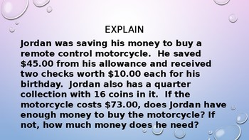 MODULE 5: MAFS.4.MD.1.2 - Money - 2 Day PowerPoint Lesson