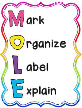 MOLE Math Posters