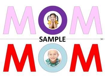 MOM Picture Frame/Card {Mother's Day}