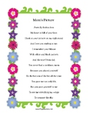 MOM'S PICTURE - Poem