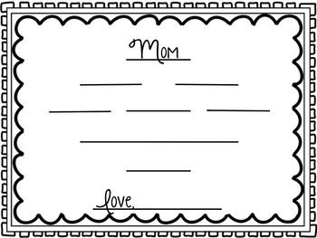 MOM cinquain template