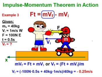 MOMENTUM AND IMPULSE. LAW OF CONSERVATION OF MOMENTUM review, problems test prep